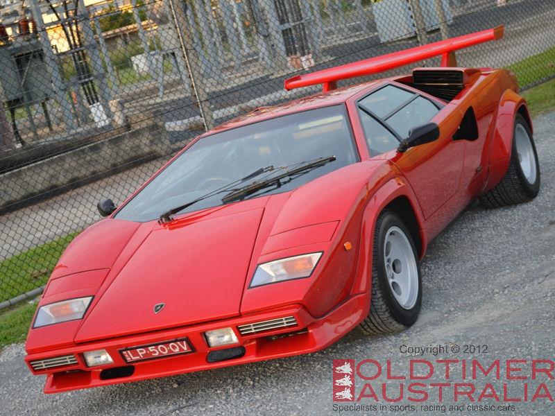 Lamborghini Countach LP5000 Quattrovalvole